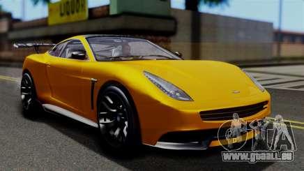 GTA 5 Dewbauchee Massacro Racecar SA Mobile für GTA San Andreas