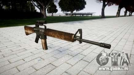 Le M16A2 fusil [optique] poussiéreux pour GTA 4