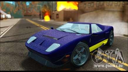 Vapid Bullet Gt (GTA IV) (LC Plate) für GTA San Andreas