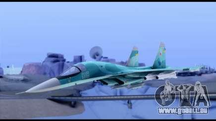 SU-34 Fullback für GTA San Andreas