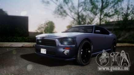 Bravado Buffalo Sedan v1.0 (HQLM) für GTA San Andreas