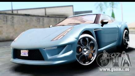 GTA 5 Grotti Carbonizzare v3 (IVF) pour GTA San Andreas