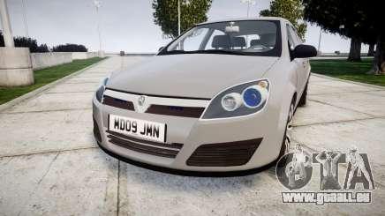 Vauxhall Astra 2009 Police [ELS] Unmarked für GTA 4