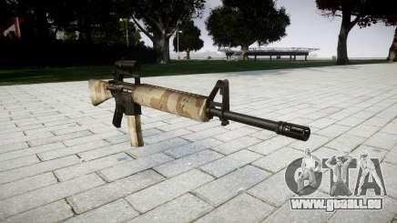 Le M16A2 fusil [optique] nevada pour GTA 4