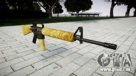 Le M16A2 fusil d'or pour GTA 4
