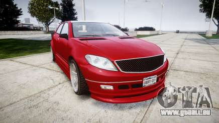GTA V Benefactor Schafter body wide rims pour GTA 4
