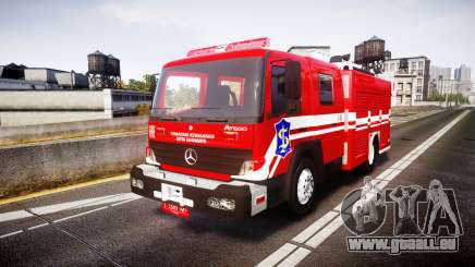 Mercedes-Benz Atego Indonesian Fire Truck [ELS] pour GTA 4