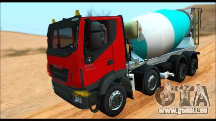 Iveco Trakker 2014 Concrete (IVF & ADD) für GTA San Andreas
