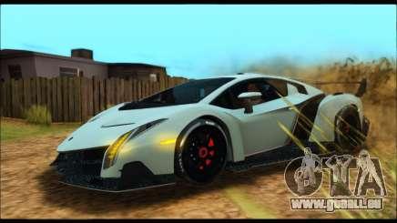 Lamborghini Veneno 2013 HQ für GTA San Andreas