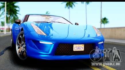 GTA 5 Grotti Carbonizzare v3 pour GTA San Andreas
