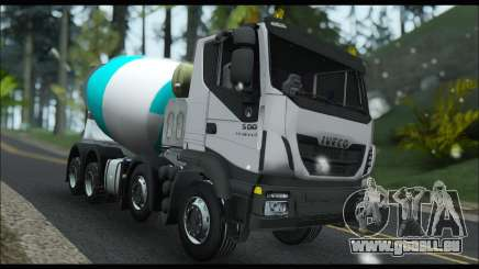 Iveco Trakker 2014 Concrete Snow pour GTA San Andreas
