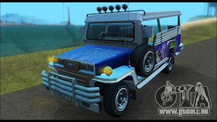 Jeepney from Binan für GTA San Andreas