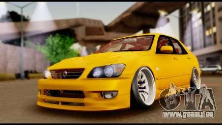 Toyota Altezza Street 2004 pour GTA San Andreas