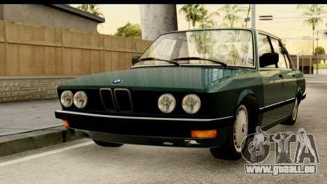 BMW M5 E28 Edit für GTA San Andreas