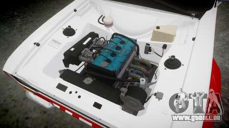 Ford Escort RS1600 PJ74 pour GTA 4 Vue arrière