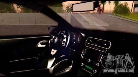 Volkswagen Polo pour GTA San Andreas vue de droite