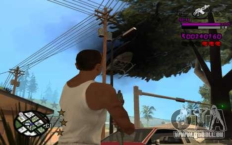 C-HUD by LoMoKo für GTA San Andreas her Screenshot