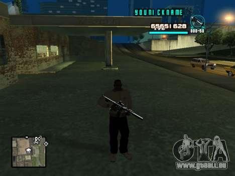 C-HUD Cosmos pour GTA San Andreas