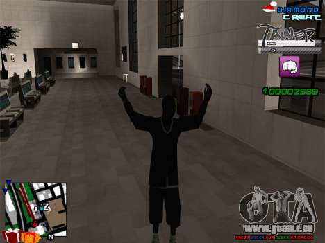 C-HUD TAWER by Vitya pour GTA San Andreas troisième écran