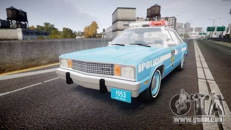 Ford Fairmont 1978 Police v1.1 pour GTA 4