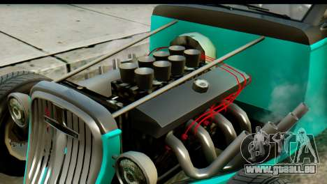 GTA 5 Hotknife GT pour GTA San Andreas vue de droite
