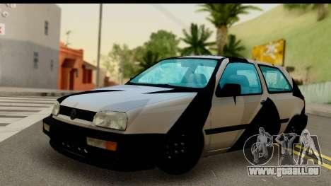 Volkswagen Golf 3 pour GTA San Andreas