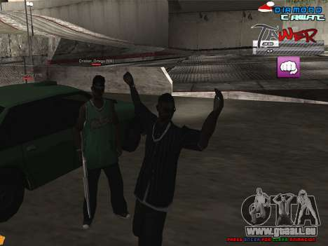 C-HUD TAWER by Vitya für GTA San Andreas