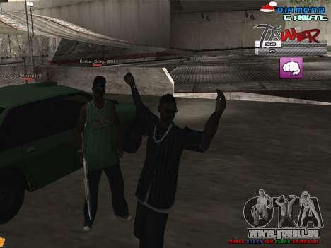C-HUD TAWER by Vitya pour GTA San Andreas deuxième écran