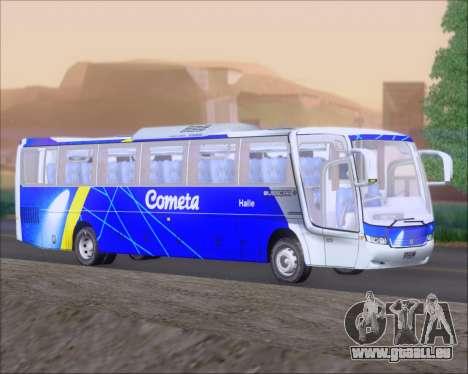 Busscar Vissta Buss LO Cometa für GTA San Andreas zurück linke Ansicht