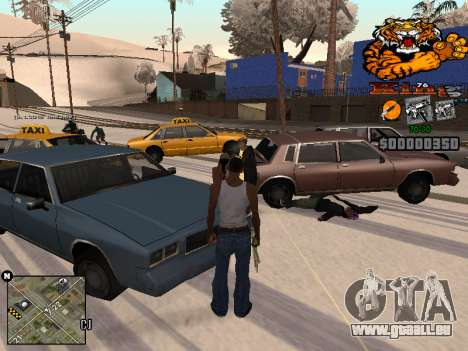 C-HUD King pour GTA San Andreas deuxième écran