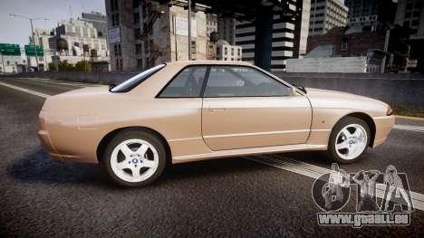 Nissan Skyline R32 GT-R 1993 pour GTA 4 est une gauche
