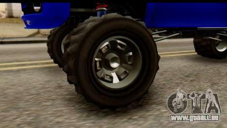 GTA 5 Vapid Sandking XL IVF pour GTA San Andreas vue de droite