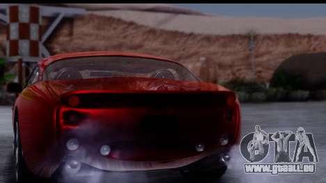 TVR Tuscan S 2001 für GTA San Andreas Seitenansicht