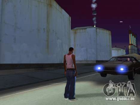 ENB pour de faibles PC par RonaldZX pour GTA San Andreas quatrième écran