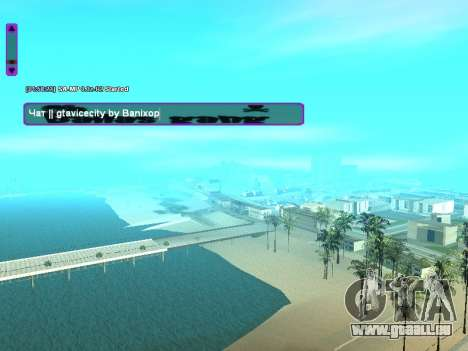 SampGUI Ballas Gang pour GTA San Andreas deuxième écran
