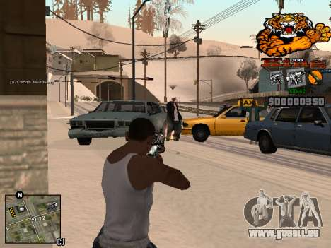 C-HUD King pour GTA San Andreas