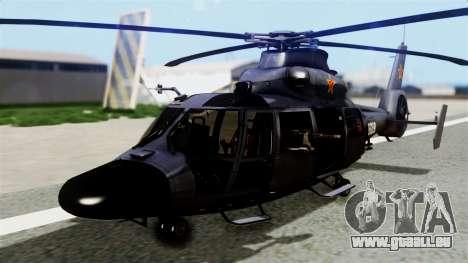 Harbin Z-9 BF4 für GTA San Andreas