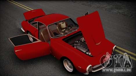 Ferrari 250 GT Berlinetta Lusso 1963 [ImVehFt] für GTA San Andreas Rückansicht
