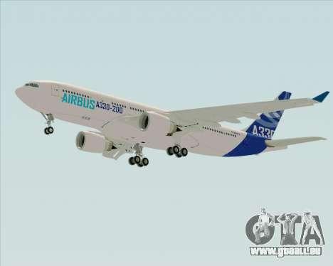 Airbus A330-200 Airbus S A S Livery pour GTA San Andreas vue de droite