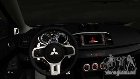 Mitsubishi Lancer für GTA San Andreas rechten Ansicht
