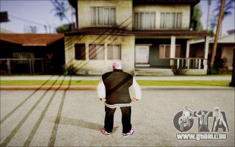 Ghetto Skin Pack pour GTA San Andreas deuxième écran