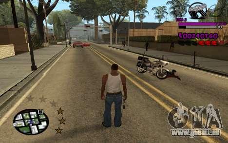 C-HUD by LoMoKo für GTA San Andreas