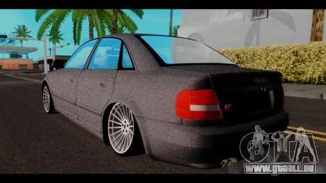 Audi A4 für GTA San Andreas linke Ansicht