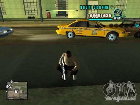 C-HUD Cosmos für GTA San Andreas zweiten Screenshot