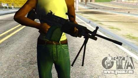 M16 from Global Ops: Commando Libya pour GTA San Andreas troisième écran