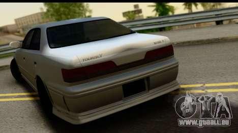 Toyota Mark 2 Sport pour GTA San Andreas vue de droite