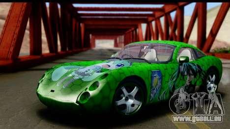 TVR Tuscan S 2001 für GTA San Andreas obere Ansicht