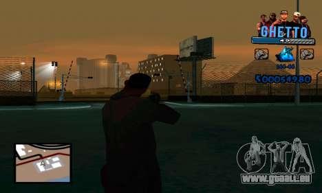 C-HUD Gangster pour GTA San Andreas deuxième écran