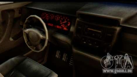 GTA 5 Vapid Sandking SWB IVF pour GTA San Andreas sur la vue arrière gauche