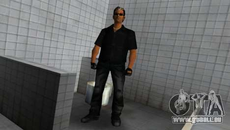 Tommy In Black für GTA Vice City dritte Screenshot